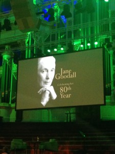 Jane Goodall Sydney May 2014