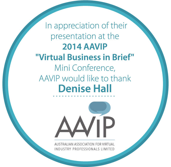 "WEBINAR: talking ""Start with the End in Mind"" via AAVIP"